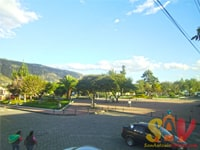 Parque central San Antonio de Pichincha